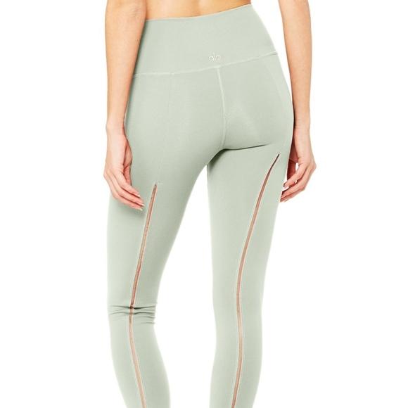 52725ed2573baa ALO Yoga Pants - Alo Yoga High-Waist Dash Legging - Sage